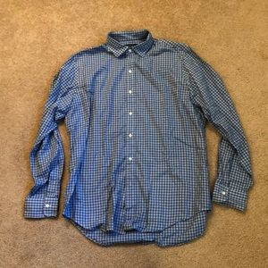 Polo Ralph Lauren Mens Checked Button Up Large